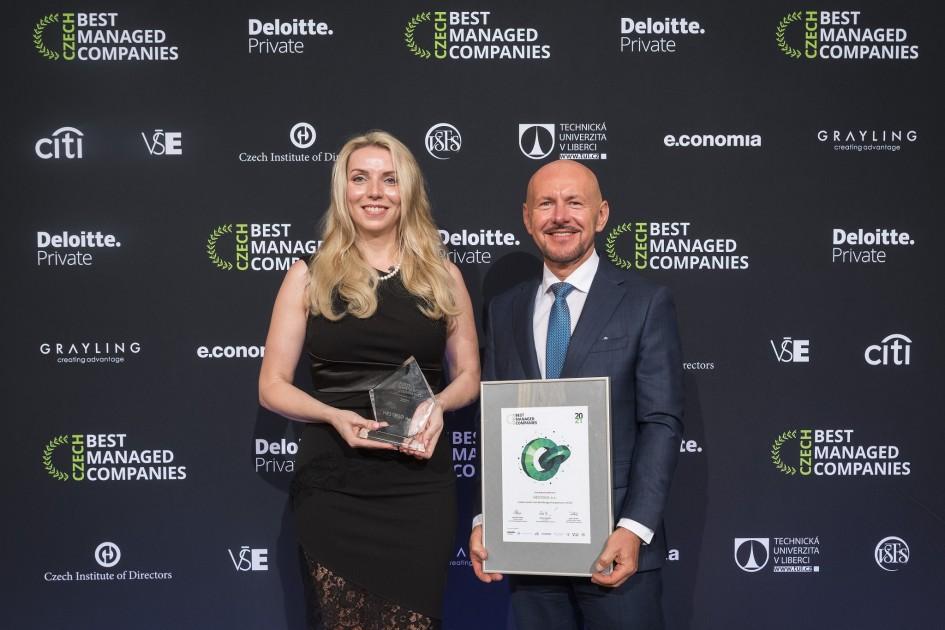 HESTEGO patří k nejlépe řízeným firmám v Česku