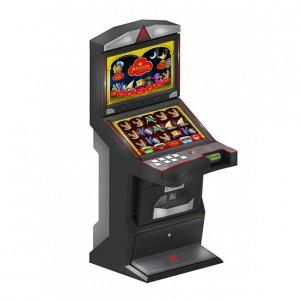 """Slant TOP: Tento stroj snoubí dvě 27"""" obrazovky a příjemný posez u nižšího typu kabinetu."""
